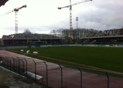 Limoges point sur l 39 avancement du chantier du stade for Piscine de beaublanc